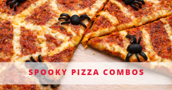 Spooky Pizza Combos